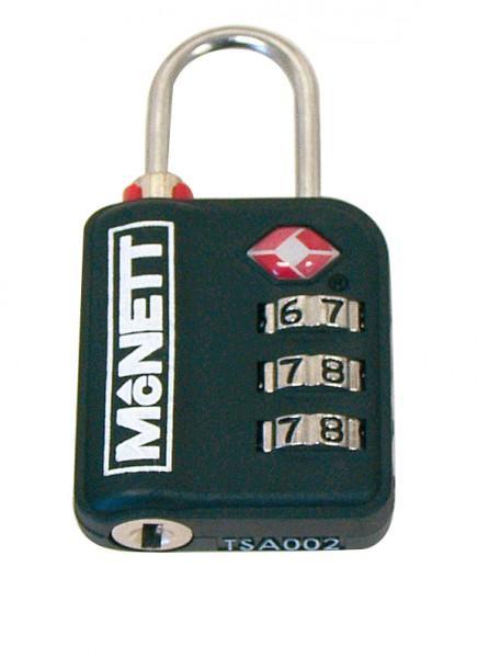McNett 'TSA' Zahlenschloss schwarz