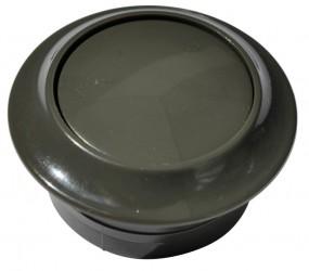Druckknopf dkl.grau für PUSH-Lock-Drehstangenschloss