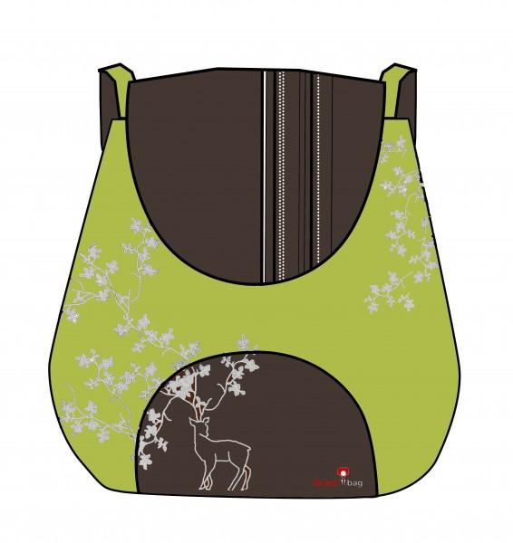 Grüezi-Bag Kultursackerl grün