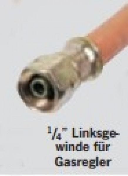 Schlauchleitung Mitteldruck PS 10 bar 400 mm Überwurfmutter x Überwurfmutter