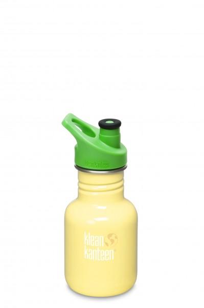 Klean Kanteen Flasche Kid Sport gelb 0,355 L
