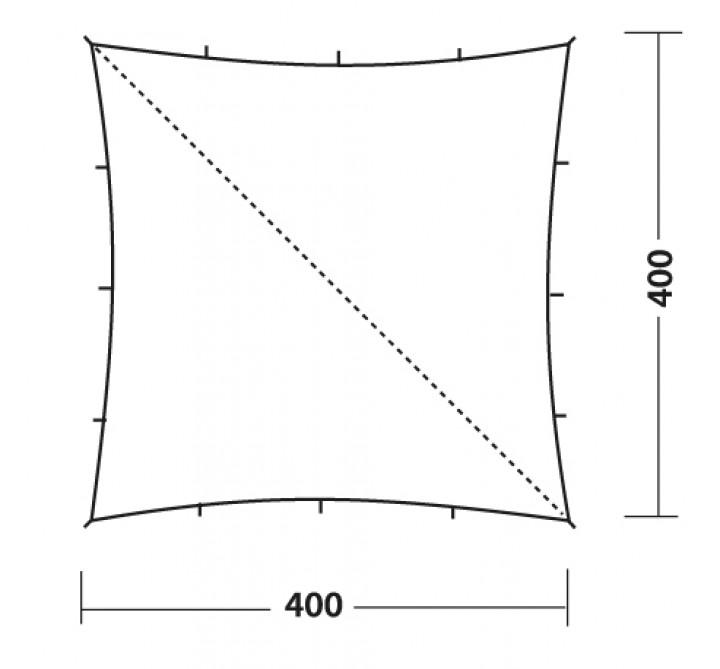 Robens Tarp 4 x 4 Meter