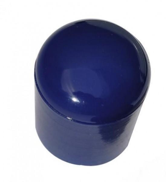 Endkappe Kunststoff blau für Oppi-Spiegel