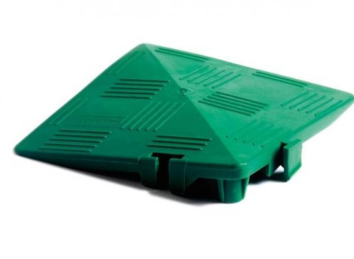 Clippy Eckrampe für Clippy Bodenrost grün