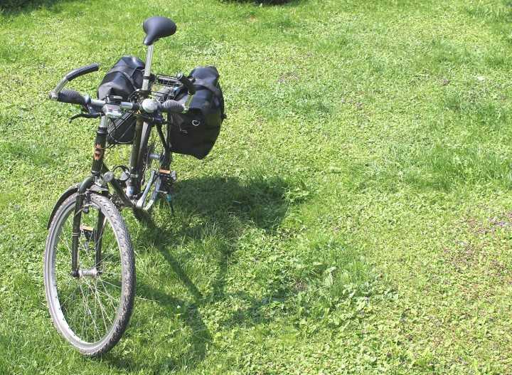 Relags 'Radltaschen' Hinterrad, schwarz