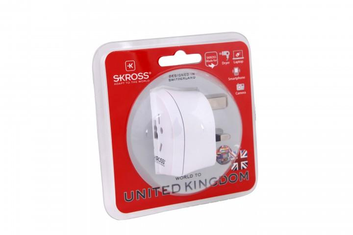 Skross Country Steckeradapter 'World to UK'