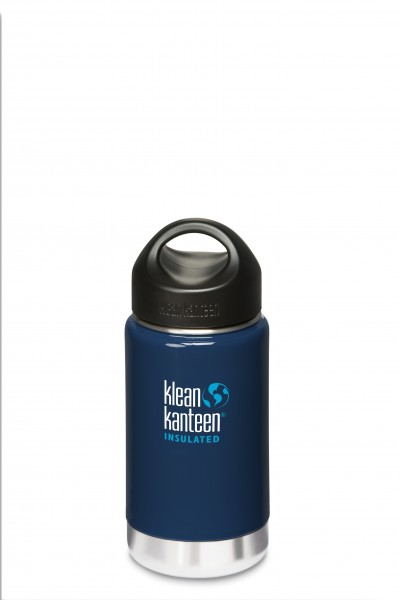 Klean Kanteen Flasche 'Insulated' blau, 0,355 L