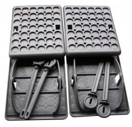 Stützplatten Jumbo Foot für Wohnwagen