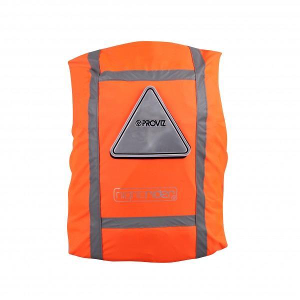Proviz Rucksackcover 'Nightrider' orange