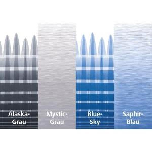 Thule Omnistor 9200 eloxiert 4 x 3 m Blue-Sky